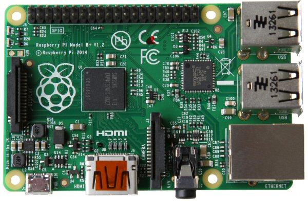 Raspberry Pi B+ image