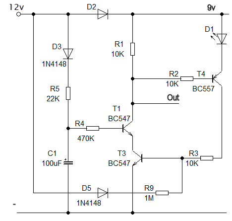 Poweroff delay circuit