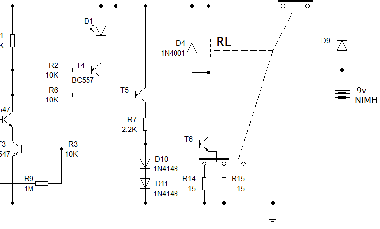 Relay driver circuit diagram