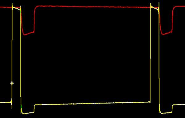 Servo drive and 5v line traces