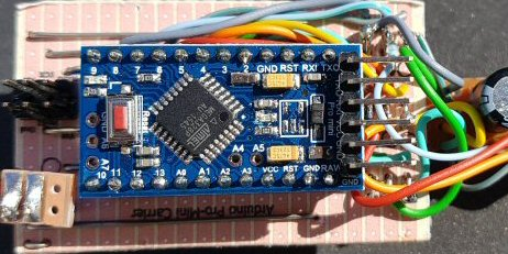 Pro-Mini carrier board with ICSP