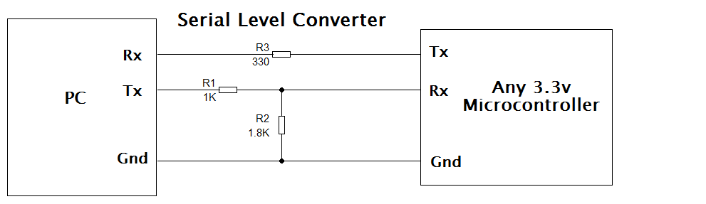 Level converter circuit diagram