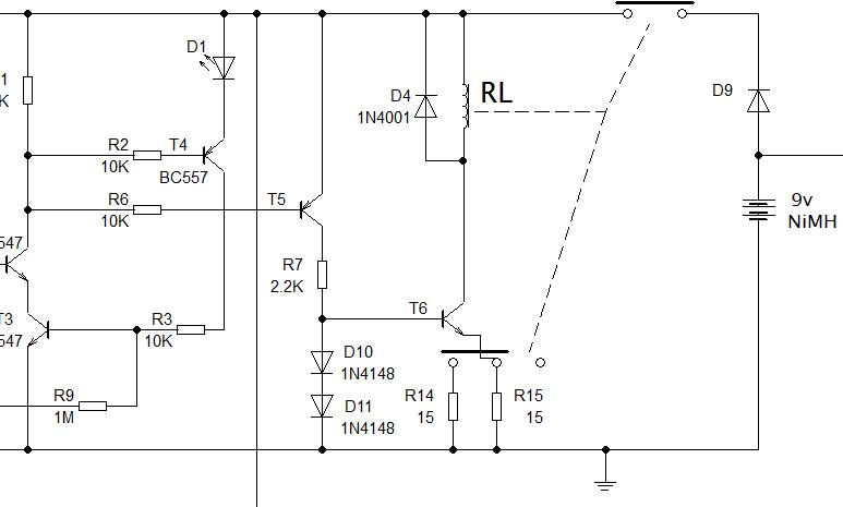 Relay driver circuit diagram